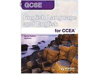 GCSE English Tutor Available: CCEA English Language and/or English Literature