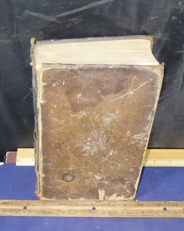 1856 Pre Civil War Human Physiology Medical Book Vol II Illustrated Dunglison !