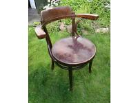 Bentwood captains chair unknown make