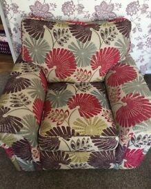 Scs Burbank 3 seater sofa bed and armchair