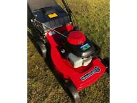 "Mountfield 21"" Self Propelled Honda lawnmower alloy deck big commercial mower fully serviced"