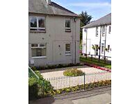 1 BEDROOM FLAT £350pm, Bellsbank crescent, Dalmellington, newly refurbished, large garden.
