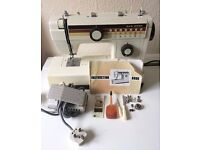 Vintage Retro Janome New Home Heavy Duty Electric Sewing Machine Model 656A