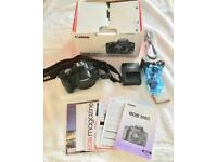 Canon EOS 500D Camera black body - Boxed