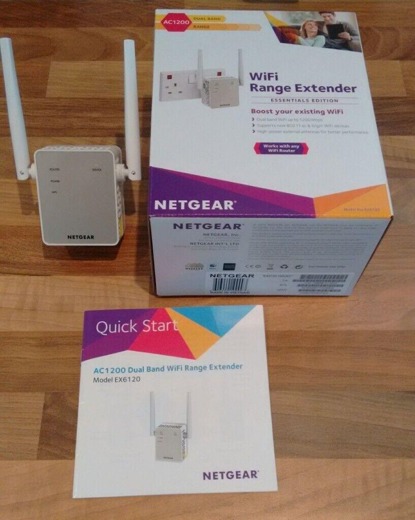 Netgear ac1200 ex6120 range extender | in Bedford, Bedfordshire | Gumtree