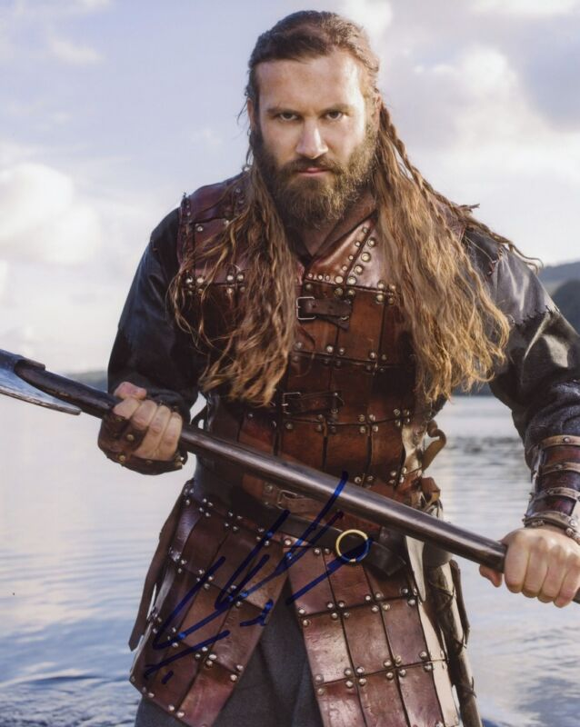 "Clive Standen ""Vikings"" AUTOGRAPH Signed 8x10 Photo"