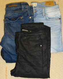 3 x pairs womens Skinny Jeans for sale