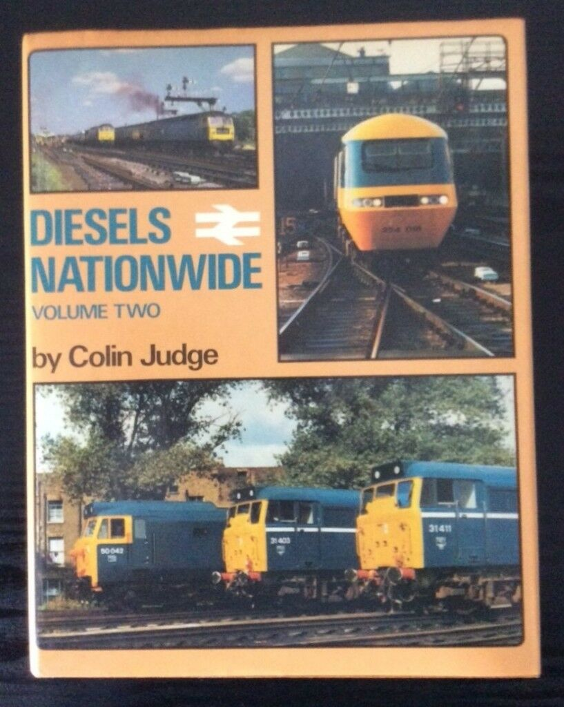 RAILWAY BOOK. DIESELS NATIONWIDE VOL 2 BY COLIN