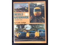 RAILWAY BOOK. DIESELS NATIONWIDE VOL 2 BY COLIN JUDGE FOR SALE