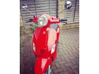 Vespa lookalike for Sale (AJS Sorvio Red)