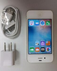 Apple iPhone 4s White 16GB - Rogers Chatr 30 Days Warranty A1387