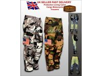 KEVLAR mens style Motorbike Motorcycle Armours Cargo Trousers Pants