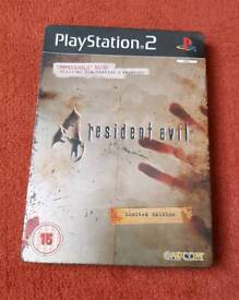 Resident Evil 4 (PS2) Limited Edition Steelbook