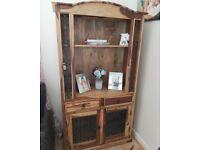 Jali wood book shelf