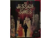 Bluray boxset Marvel Jessica jones season 1 region free £25 no offers