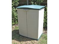 Plastic Garden Shed Storage Cupboard
