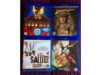 ⭐️ Set of 4 Blu ray Disc movies