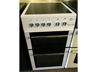 White Flavel Freestanding electric cooker