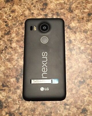 Google Nexus 5X H791 16GB 4G LTE 5.2-Inch Factory Unlocked (CARBON BLACK)