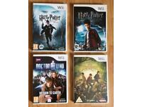 Wii Games Doctor Who Spiderwick Harry Potter