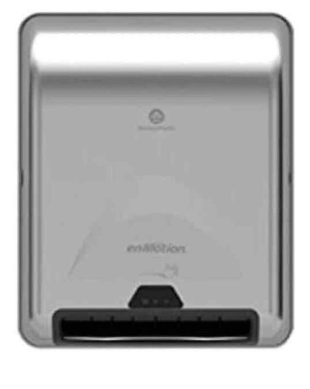 Georgia Pacific enMotion Recessed Automated Towel dispenser, Stainless Steel