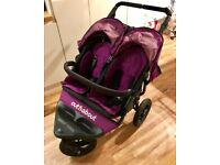 Out n about nipper double 360 V4 in punch purple