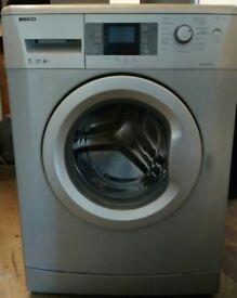 beko silver 7kg load washing machine
