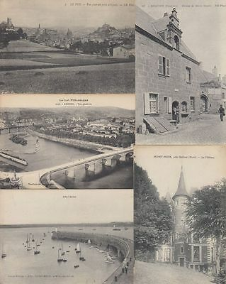 FRANCE FRANKREICH 100.000  Vintage  Postcards pre-1940, TOP lot for breaking up!