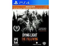 PS4- Dying light - The Following (all dlc)