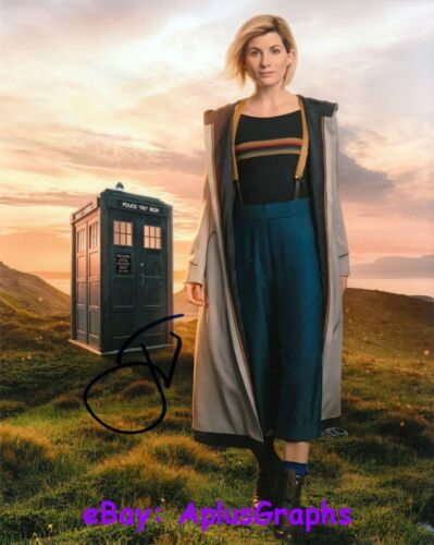 JODIE WHITAKER.. Doctor Who Beauty - SIGNED