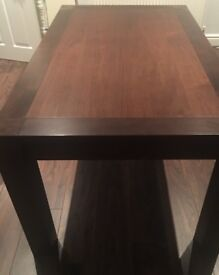 Walnut dining table - extendable - great condition - collection only