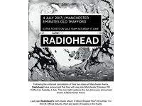 Radiohead Concert Tickets & Deluxe Double room at the Renaissance Hotel Manchester