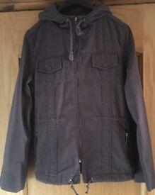 BNWT Next Blue Size 14 Hooded Coat