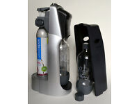 Soda Stream Drinks Maker with Two Carbonating bottles & Gas Cylinder