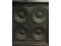 410 speaker cab, 400w cab Cheap for quick sale Bass guitar cab