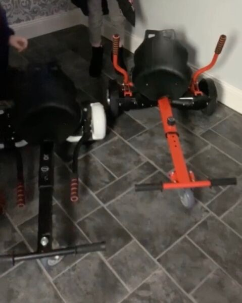 Used, Segway with kart x2 for sale  Darlington, County Durham