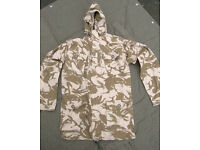 British Army Issue Desert Pattern Windproof Combat Smock - Large