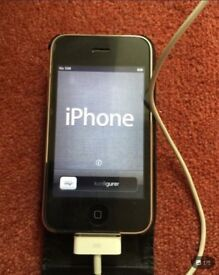 Apple 3G phone with £10 credit