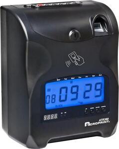 "New ""Acroprint ATR360 Electronic Top Loading Biometric Time Clock""… FREE SHIPPING"