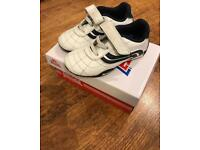 Lonsdale leather trainers