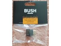 New & Sealed Bush Free Angle HDMI Connector