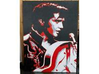 Elvis Presley The 1968 Comeback Special Huge Painting