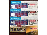 NY Giants vs. LA Rams tickets - Twickenham 23/10