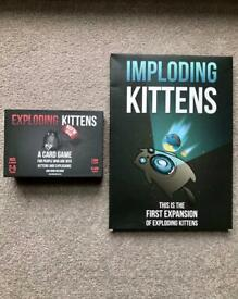 Card Game for Sale - Exploding Kittens + Expansion Pack (NSFW deck)