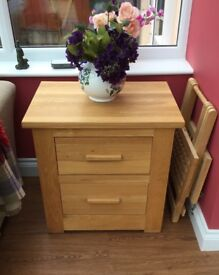 Solid oak drawers