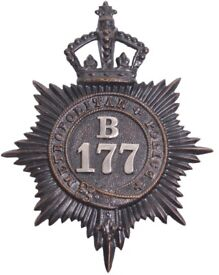 Wanted - Police Patches / Helmet & Cap Badges