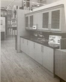 Superb Kitchen: Ex showroom display AND Undercounter fitted freezer