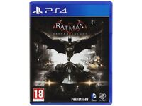 Batman Arkham Knight PS4 GAME USED