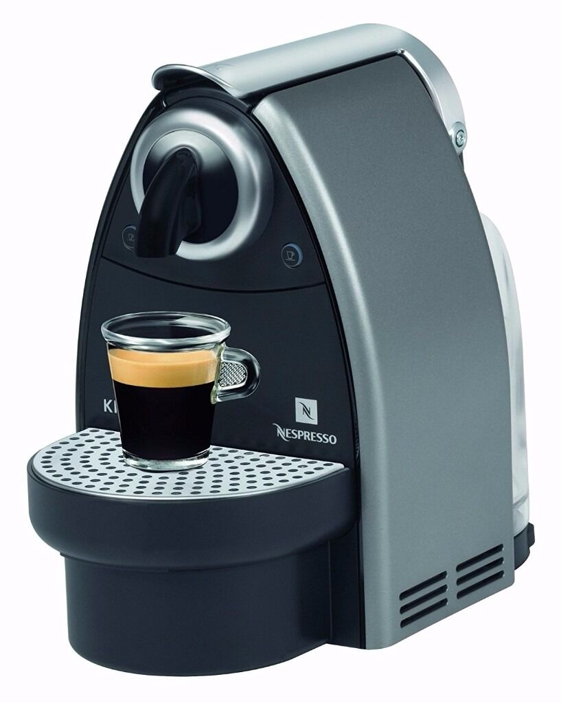 krups nespresso essenza coffee maker machine free coffee capsules in hull east yorkshire. Black Bedroom Furniture Sets. Home Design Ideas