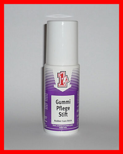 einszett gummi pflege rubber care stick 100ml ebay. Black Bedroom Furniture Sets. Home Design Ideas